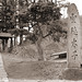 Stone Monument, 1930s Japan