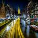 Light trailsssssssssssssssszzzzzzzzzz in Amsterdam by www.Royz.nl