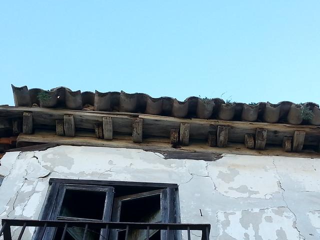 Maderas talladas en la Casa del siglo XVI del Cigarral El Bosque