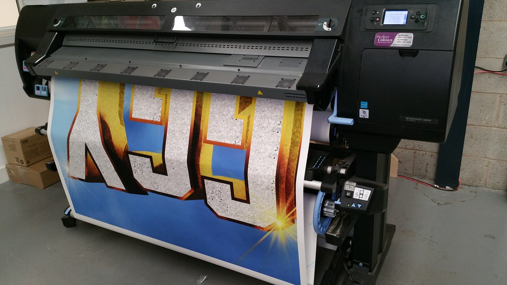 Digitally printed advertising for I'm a Celebrity