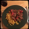 #CucinaDelloZio #Homemade #PepperSteak - with #Turmeric #brownRice