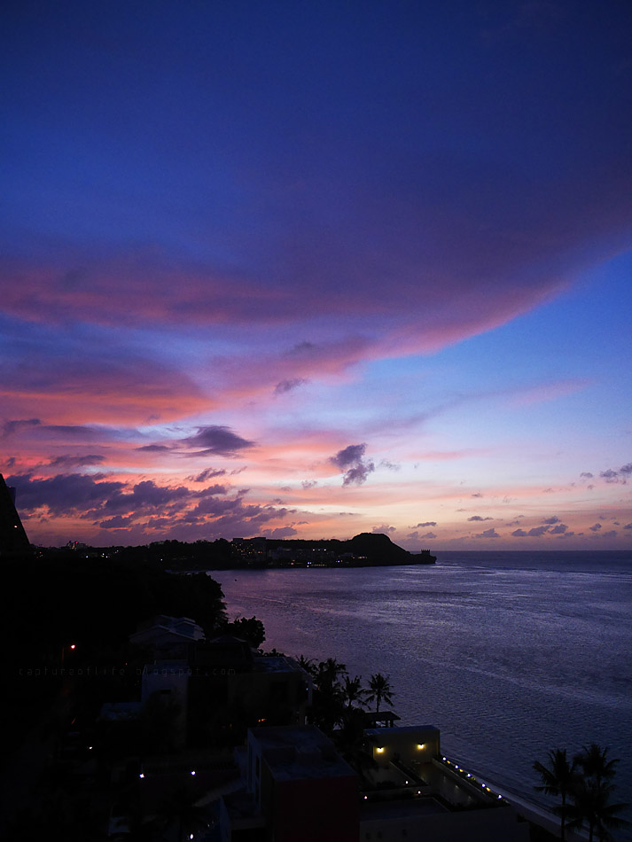 Trip to Guam-- the sunset