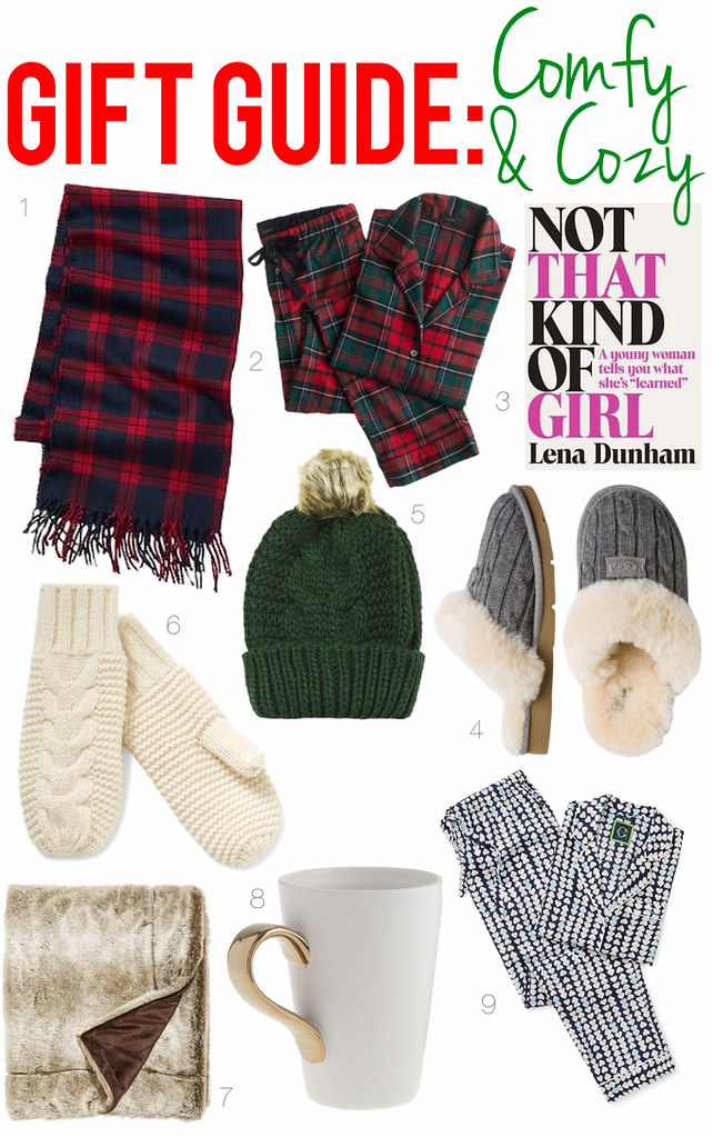 Gift Guide: Comfy & Cozy | Holiday Gifts | #LivingAfterMidnite