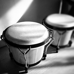 percussion, snare drum, monochrome photography, drums, close-up, still life photography, drum, hand drum, timbales, monochrome, black-and-white, black, timpani, skin-head percussion instrument,