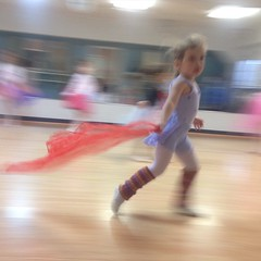 Dancing with scarves to #nutcracker suite. #Ashlin #dance #happy