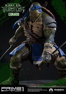 Prime 1 Studio《忍者龜:變種世代》1/4 「李奧納多」比例雕像