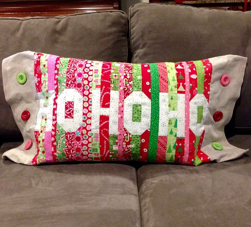 Ho Ho Ho Pillow