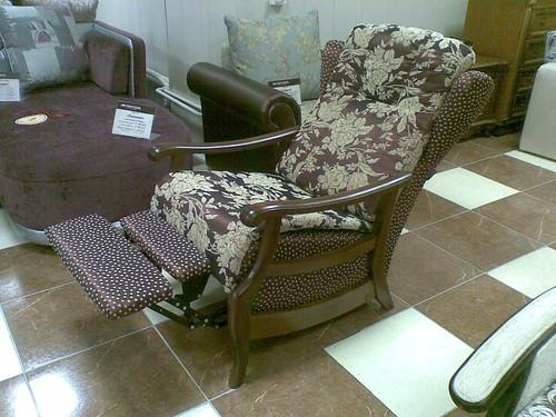 Кресло Панама разложено в магазине