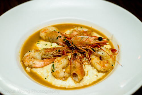 Shrimp and Cheddar Grits