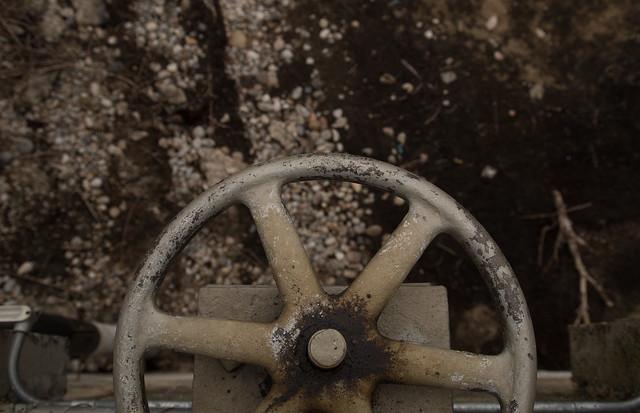 Dam Control Wheel