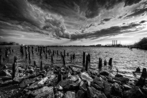 India Point Park Before the Storm by Frank Grace, via I {heart} Rhody