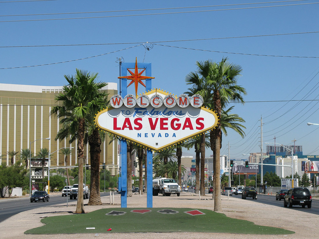 Classic Welcome to Las Vegas Sign