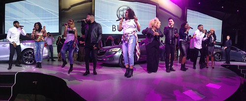 PANORAMIC: @OfficiallyTen of @thesingoff performs at @Buick launch! #TeamTen #NAIASGM #GMDiversity #NAIAS2015