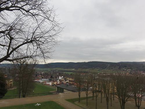Rudolstadt von der Heidecksburg