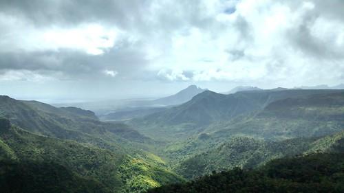 landscape volcano mauritius