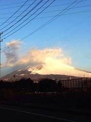 Mt.Fuji 富士山 1/19/2015