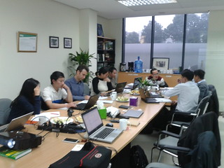 Vietnamese and French research partners in the REVALTER project at work