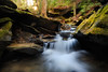 Cascades in Eagle Creek - 9004 by J & W Photography