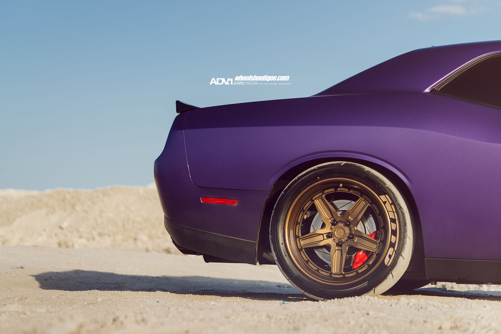 Here Kitty Kitty Hellcat Challenger On Adv5 Track
