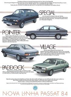 1984 Volkswagen Passat for Brazil