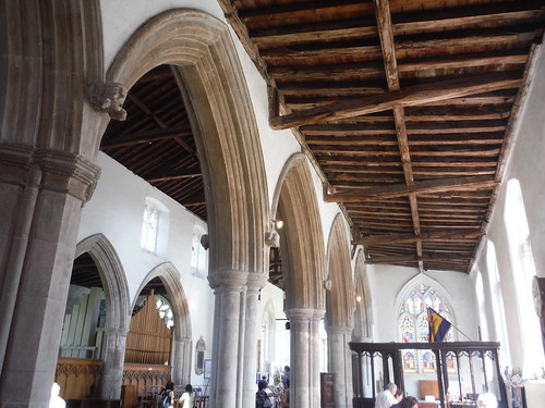 Interior of Ashwell Church
