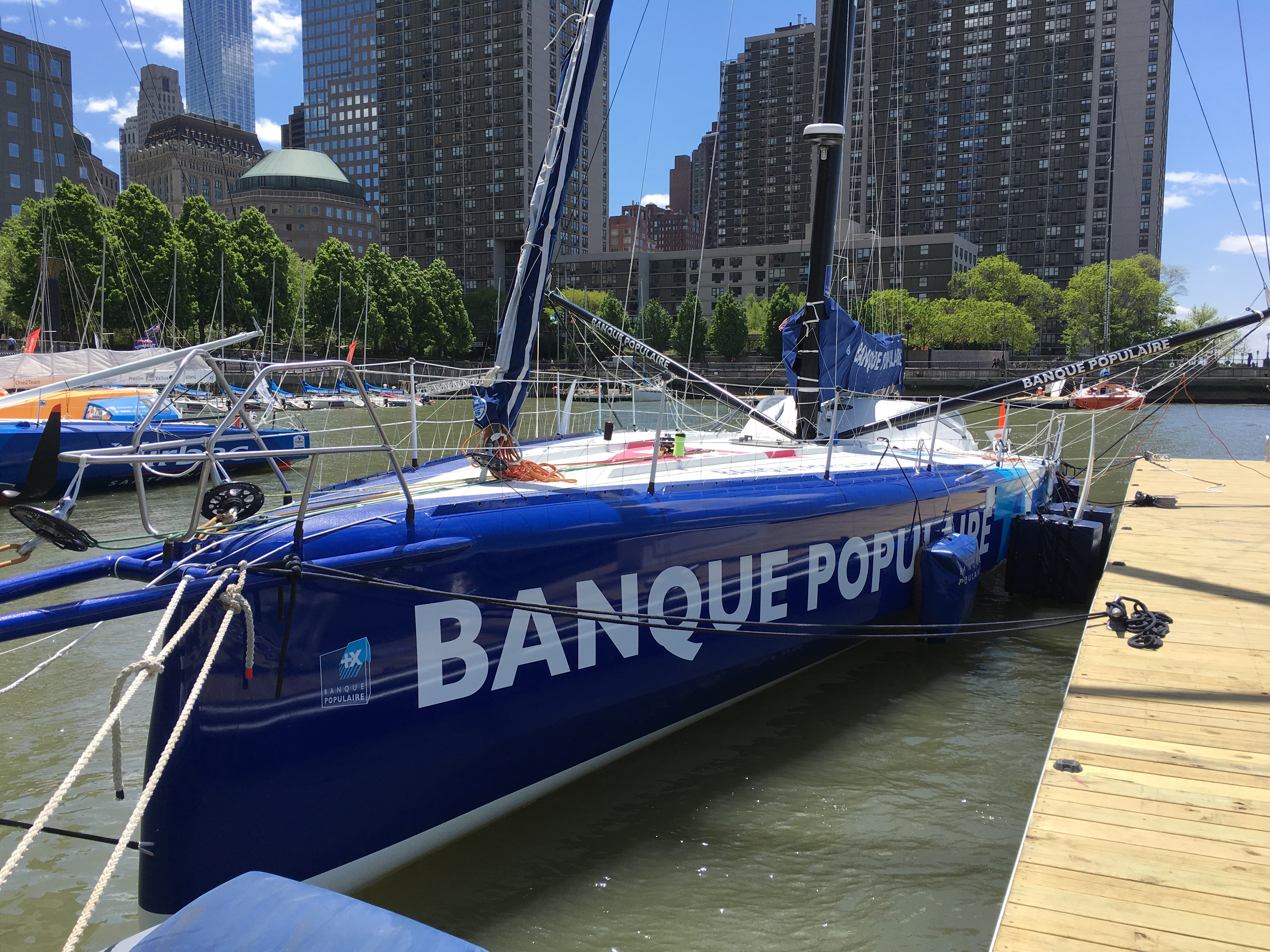 Mono Banque Populaire VIII - NewYork 2016_Copyright BPCE