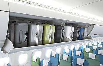 Airbus nuevos overhead bin para A320 (Airbus)