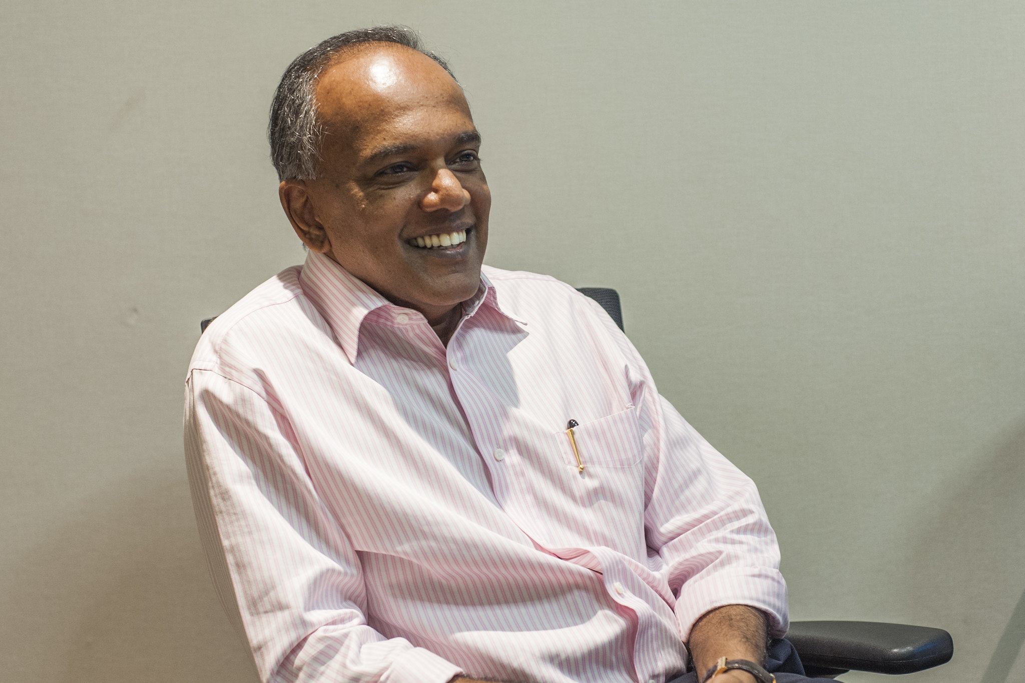 Shanmugam Interview Photo 1