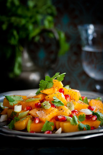 Sharon Salat/Persimmon Salad