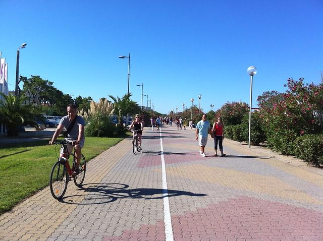 Argelès-sur-mer: Promenade des anglais...