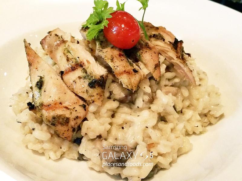 silver spoon mushroom risotto