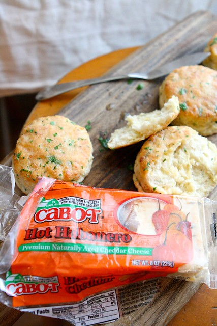 Spicy Cheese Buttermilk Biscuits