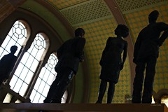 "Gare de Metz : Une sculpture allemande en ""Hommage à Jean Moulin"""