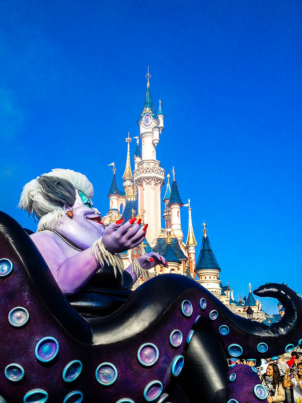 Ursula in the Maleficent Disney Villains Promenade