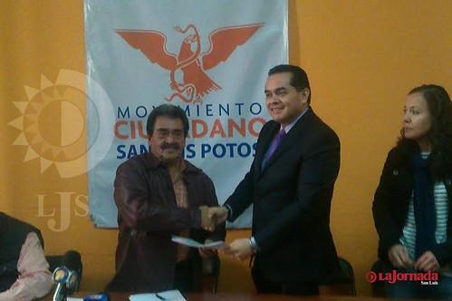Se registra Eugenio Govea como precandidato de Movimiento Ciudadano a la Gubernatura del Estado