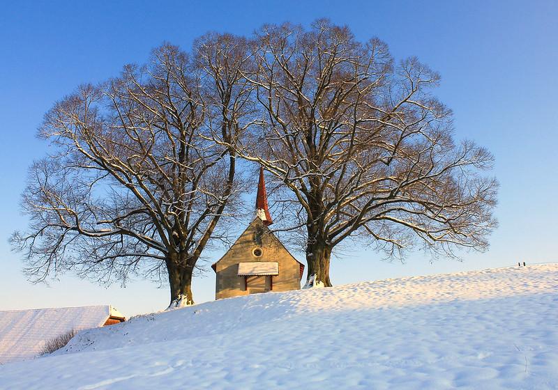 Wyherkapell Ettiswil im Schnee