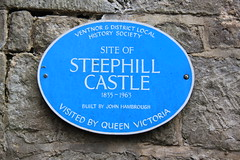 Photo of Victoria blue plaque