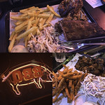 Combos at Bodeans BBQ, Soho, London