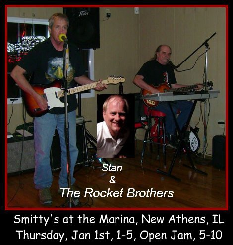 Stan & The Rocket Brothers 1-1-15