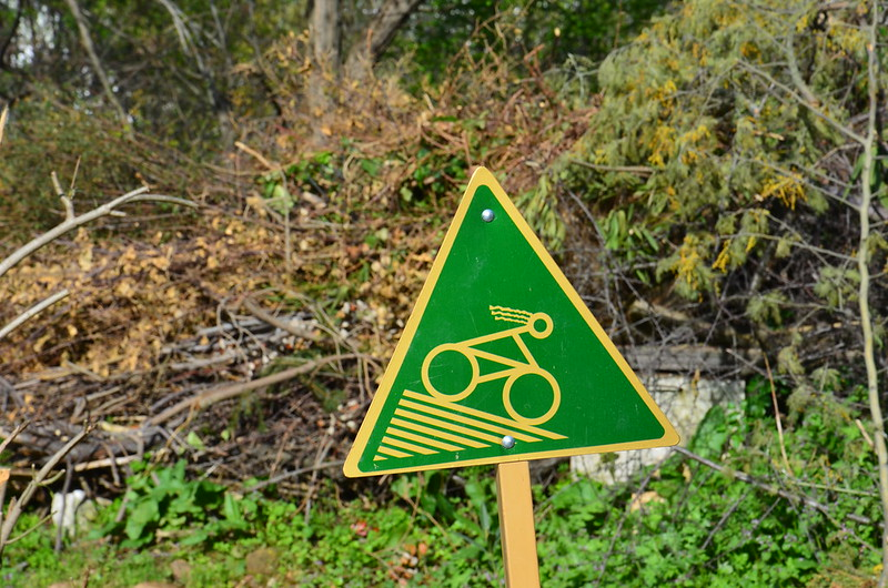 Ein Bild mit Warnung
