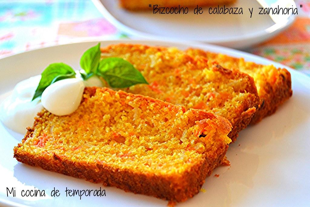 Bizcocho de calabaza y zanahoria 022