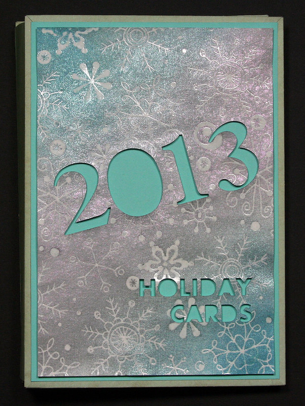2013 Holiday Card Mini Album | shirley shirley bo birley Blog
