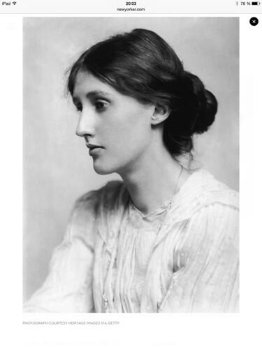 Virginia Woolf photo