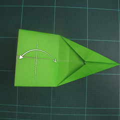 การพับกระดาษเป็นรูปแรด (Origami Rhino) 013