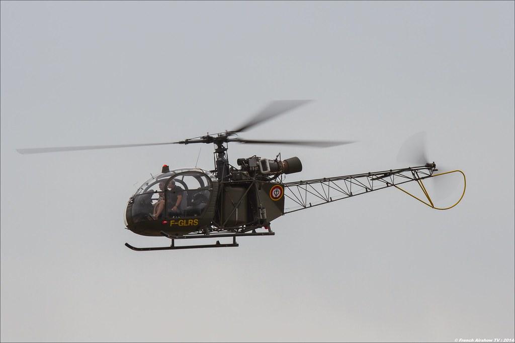 Alouette II, F-GLRS ,Airbus Helicopter, Meeting des 60 ans de l'ALAT,Aviation légère de l'armée de Terre (ALAT), Cannet des Maures