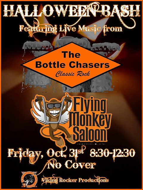 10/31/14 The Bottle Chasers @ Flying Monkey Saloon, Hayfield, MN