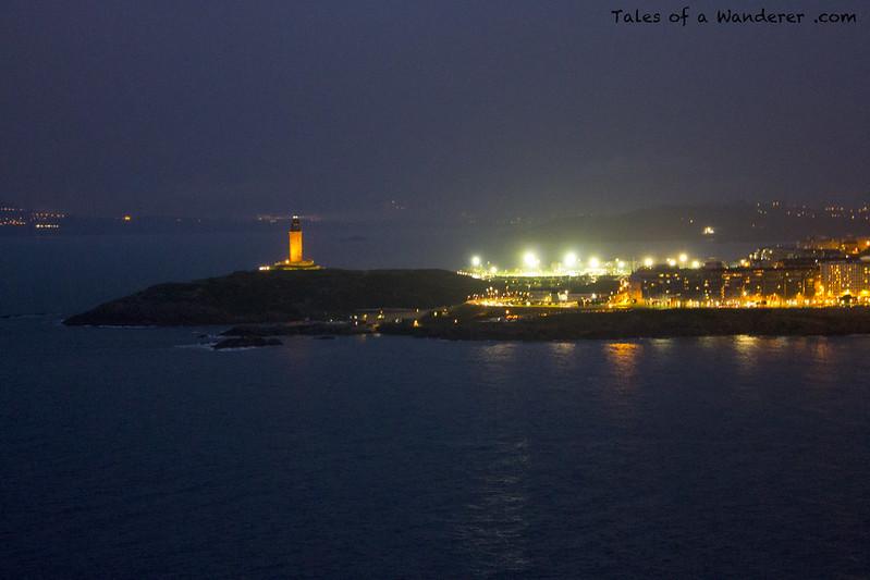 A CORUÑA - Mirador de San Pedro - Torre de Hércules