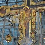 Crucifix in the Basilica of the Nativity