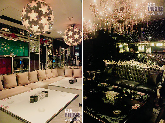 White Room and Black Room at Club Cubic Macau