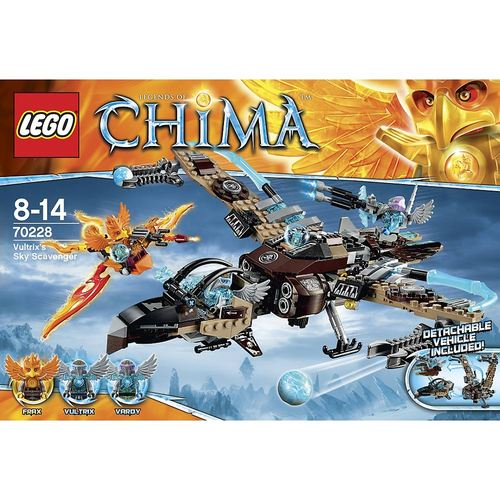 LEGO Legends of Chima 70228 Front